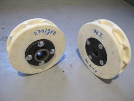 Kunststof nestwielen zonder flens voor 13 * 36 mm ketting