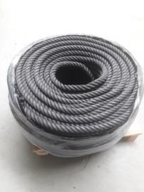 Zwart kabelaring touw 38 mm