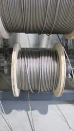 RVS kabel 10 mm