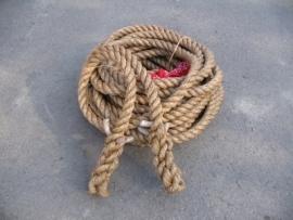Touwtrek touw 34 mm 25 meter