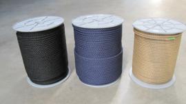 PPMF 3 strengs geslagen touw 8 mm