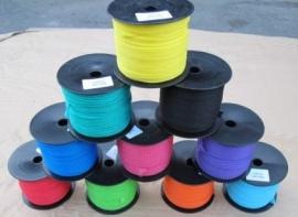 PPMF 2 mm gevlochten diverse kleuren