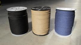 PPMF 3 strengs geslagen touw 6 mm