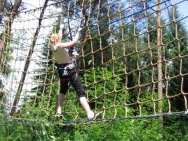 Survival net voor klimparken