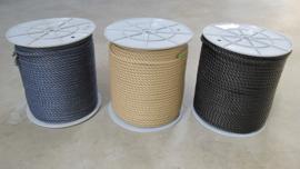 PPMF 3 strengs geslagen touw 10 mm