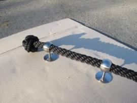 Sierknopen in kabelslag touw