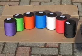 PPMF gevlochten touw diverse kleuren
