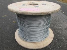 Verzinkte staalkabel 6 mm