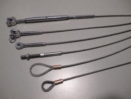 Lengte 3 mm kabel Hart op Hart