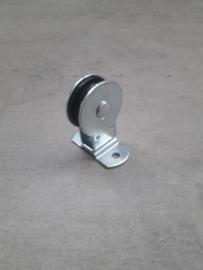 Staande katrol met polyamide schijf  40 of 50 mm