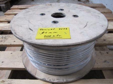Verzinkte staalkabel 5 mm