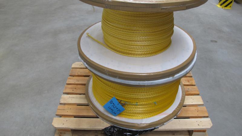 Dyneema 10 mm met coating