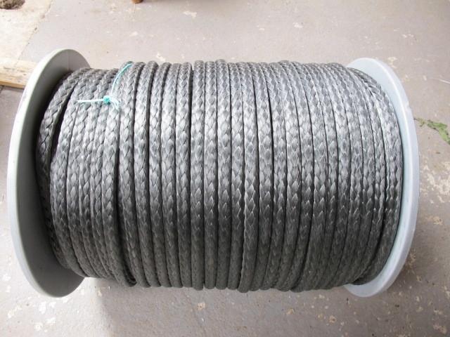 Dyneema 12 mm kleur grijs