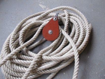 katrollen voor touw