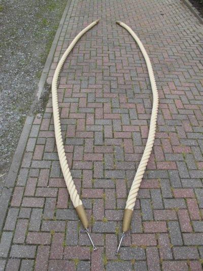 Kabelaring touw 64 mm met RVS kern