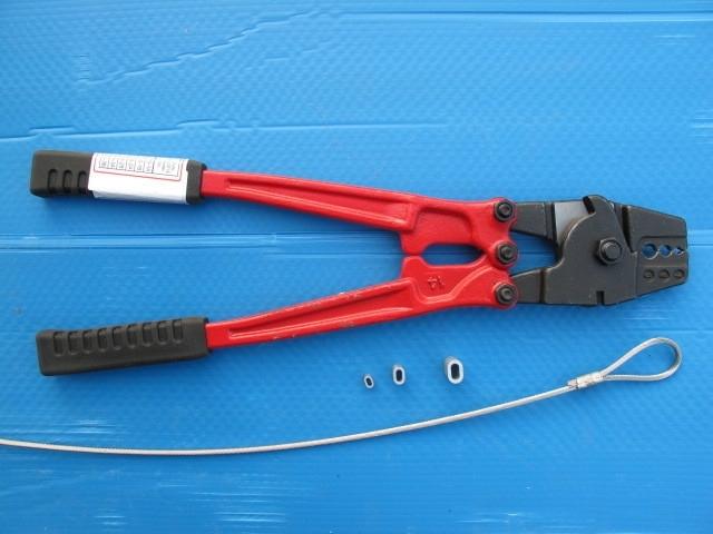 Matrijs perstang en kabel schaar 2.0 - 4.0 mm