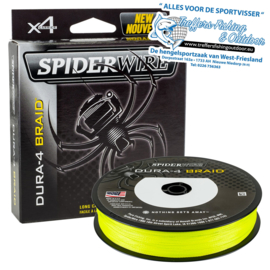 SPIDERWIRE - DURA  4  BRAID - YELLOW - 150 MTR