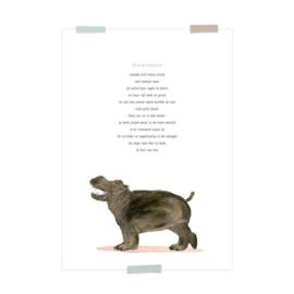 Print Noortje Nijlpaard
