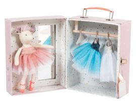 Ballerina MUIS in verkleedkoffer