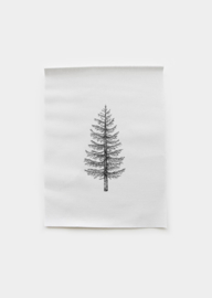 Poster textiel Dennenboom