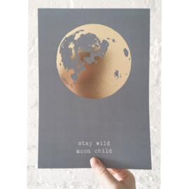 A4 print : Moonchild