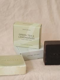 Groene thee en Citroengras 130 gram