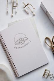 Schrijfboekje METAMORPHOSE