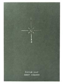 A5 kaart : INNER compass