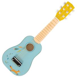 Houten gitaar VOS