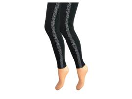 Dames legging - Katoen - Gestreept - Luipaard print
