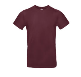 B&C Basic T-shirt E190 - Burgundy