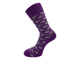 SQOTTON - Naadloze sokken - Vissen