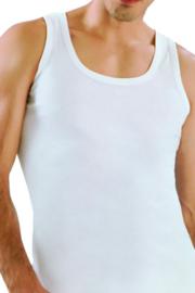 5 stuks Bonanza hemd - Regular - 100% katoen - wit