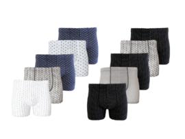 Boxershorts 10 Pack - Katoen - Casual/Motief - Multicolor