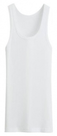 Bonanza hemd - Regular - 100% katoen - wit