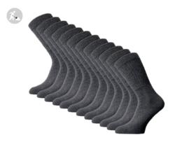 12 paar SQOTTON Werksokken - Heavy - Antraciet