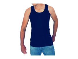 5 stuks Bonanza hemd - Regular - 100% katoen - Donkerblauw