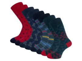 8 paar SQOTTON - Naadloze sokken - Glens