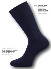 12 paar Herensokken - First-Class - Naadloos - Donkerblauw