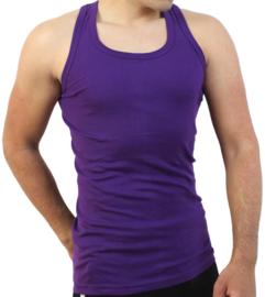 Bonanza hemd - Regular - 100% katoen - paars