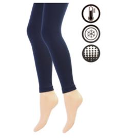 Thermo legging - marineblauw
