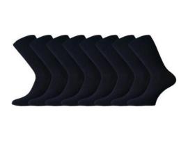 8 paar Damessokken - JustAMoment - naadloos - zwart