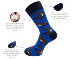 8 paar SQOTTON - Naadloze sokken - Funky Animals