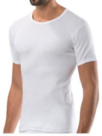 Bonanza Basic T-shirt - O-neck - 100% katoen - Wit