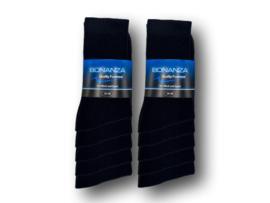 10 paar Bonanza sportsokken zwart