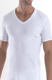 Bonanza T-shirt - V-hals - Wit
