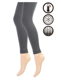 Thermo legging - antraciet