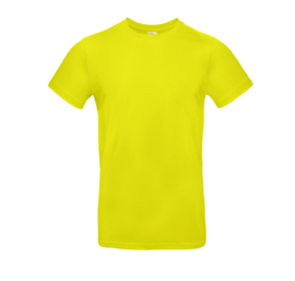 B&C Basic T-shirt E190 - Pixel Lime