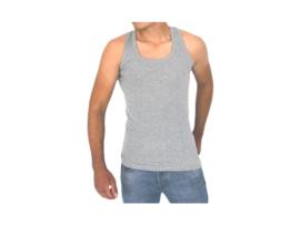 5 stuks Bonanza hemd - Regular - 100% katoen - Grijs