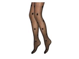 Panty - Polka Dots - Zwart